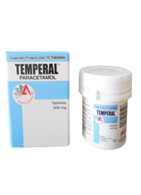 TEMPERAL TABLETAS 500 MG C/10