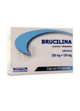 BRUCILINA CAPSULAS 250 MG. C/12