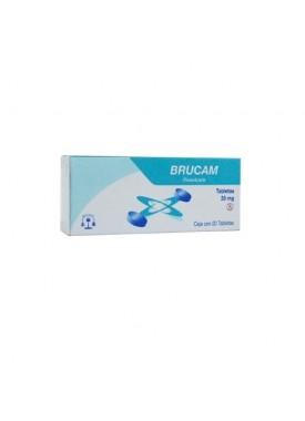 BRUCAM CAPSULAS 20 MG C/20