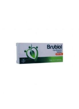 BRUBIOL TABLETAS 500 MG C/10