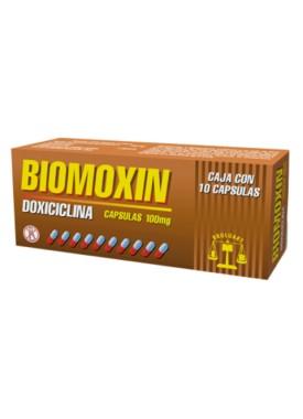 BIOMOXIN CAPSULAS 100 MG C/10