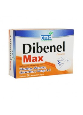 DIBENEL MAX CAPSULAS C/30