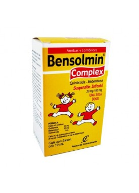 BENSOLMIN COMPLEX INF SUSPENSION C/10 ML.