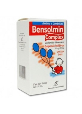 BENSOLMIN COMPLEX PED SUSPENSION C/10 ML.