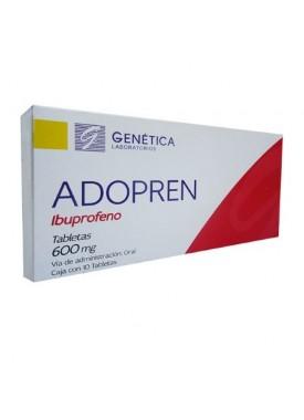 ADOPREN TABLETAS 600 MG. C/10
