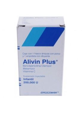 ALIVIN PLUS INY.VIAL AMP INFANTIL