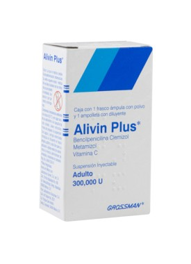 ALIVIN PLUS INY. VIAL AMP. ADULTO