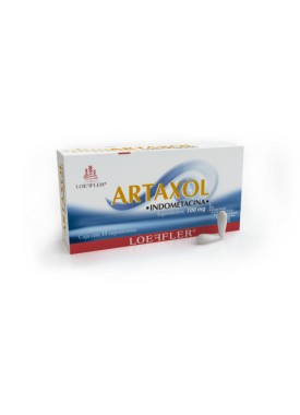 ARTAXOL SUPOSITORIOS C/15 100 MG