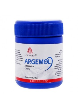ARGEMOL CREMA C/28 GR.