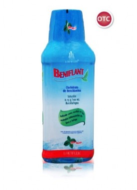 BENIFLANT ENJUAGUE BUCOFARINGEO 360 ML