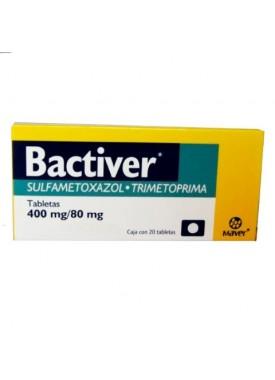 BACTIVER 400MG/80MG C/20 TAB