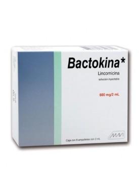 BACTOKINA INYECTABLE C/6 AMP.