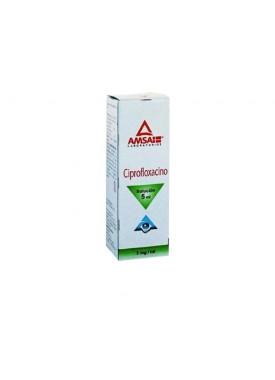 CIPROFLOXACINO SOL OFT CJA C/FCO 5 ml