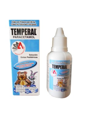 TEMPERAL GOTAS 100 MG/ML C/20ML