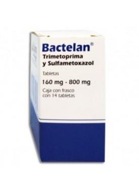 BACTELAN TABLETAS 160/800 C/14