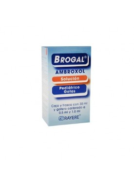 BROGAL PEDIATRICO GOTAS 750 MG/100 ML C/30 ML