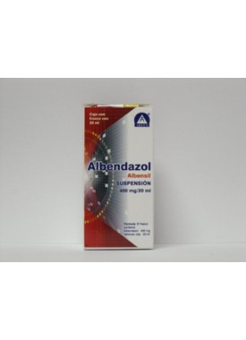 ALBENDAZOL GI SUSPENSIÓN 2G/100ML CAJA C/FCO 20 ML
