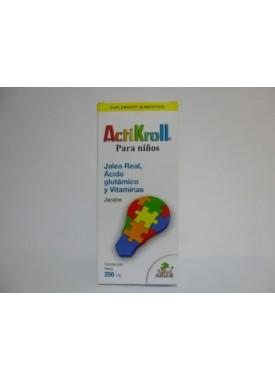 ACTIKROLL JARABE 250 ML