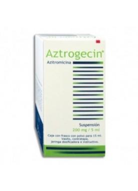 AZITROMICINA (AZTROGECIN) SUSPENSION 200 MG. C/1
