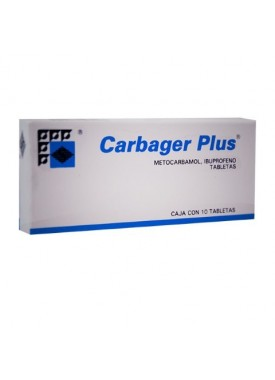 CARBAGER PLUS TABLETAS C/10