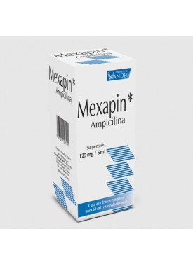MEXAPIN SUSPENSION.125 MG. 60 ML