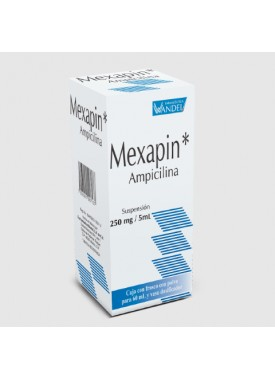 MEXAPIN SUSPENSIÓN 250 C/60 ML