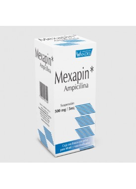 MEXAPIN SUSPENSION.500 MG. 60 ML