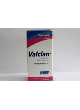 VALCLAN SUSP.125/31.25 MG. 60 ML