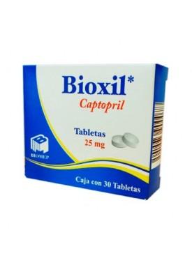 BIOXIL TABLETAS 25 MG C/30